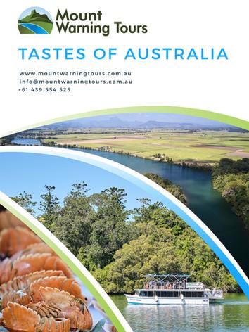 Tastes Of Australia Brochure
