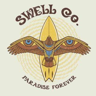 Swell Paradise Forever Shirt Design