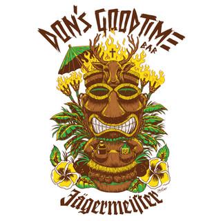 Don's Jagermeister Shirt Design
