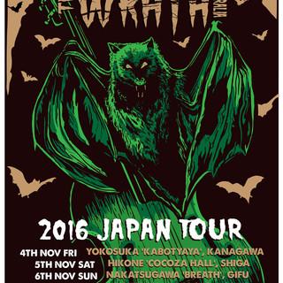 The Wrath Japan Tour Poster