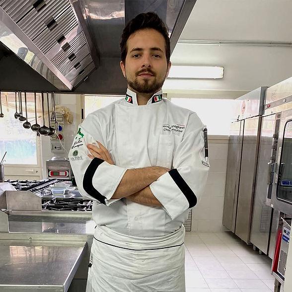 Nicolas Spoglianti divisa chef Executive
