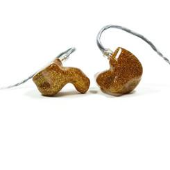 Корпуса - золотой с блестками (gold sparkle) Крышки - в цвет корпуса