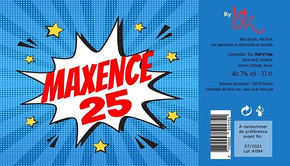 Anniversaire Eclatant : Coffret 6 DK Blonde 33cl - 7%, étiquette personnalisable