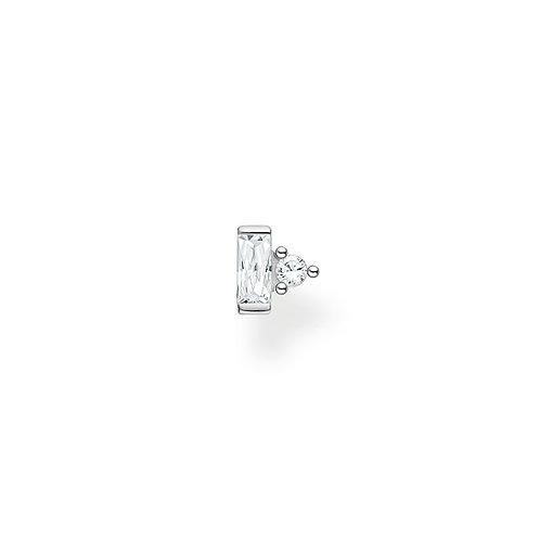 Thomas Sabo Silver with Clear CZ Ear Stud - H2186-051-14