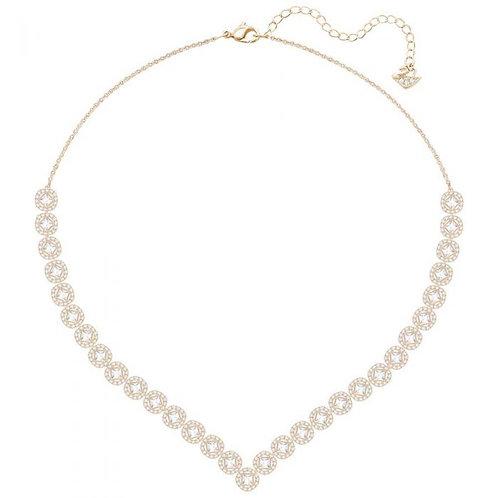 SWAROVSKI Angelic Square Rose Gold tone Necklace  - 5351308