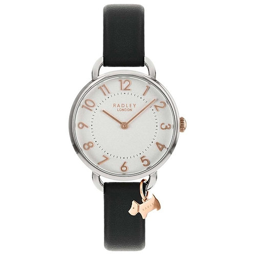 RADLEY Ladies Southwark Park Black Leather Strap Watch - RY2683