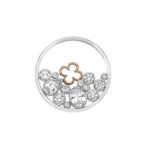 Emozioni by Hot Diamonds Spirito Libero Flower CZ Coin - EC502