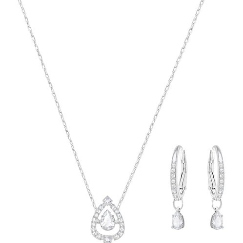 SWAROVSKI Sparkling Dance Pear Necklace and Earrings set - 5272368