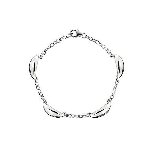 Hot Diamonds Sterling Silver  Long Mirage Drop Bracelet