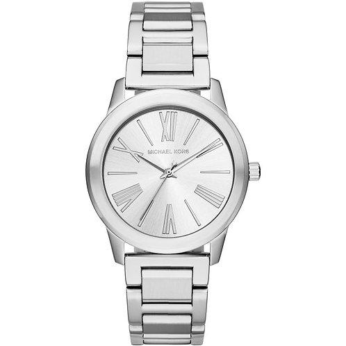 Michael Kors Steel Hartman Bracelet Strap Watch MK3489