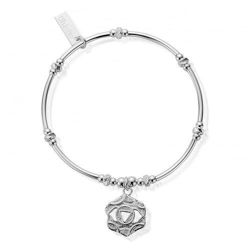 ChloBo Silver Third Eye Chakra Bracelet - SBMNB005