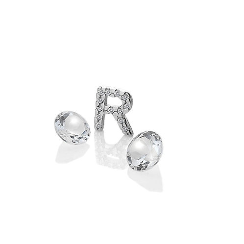 Anais by Hot Diamonds Sterling Silver Letter R Charm - AC086