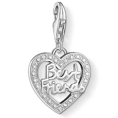 Thomas Sabo Silver Best Friends Charm - 1307-051-14