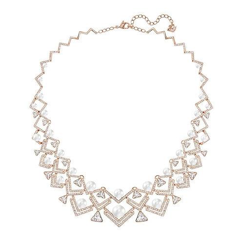 SWAROVSKI Edify Rose Gold Plated Large Necklace - 5202168
