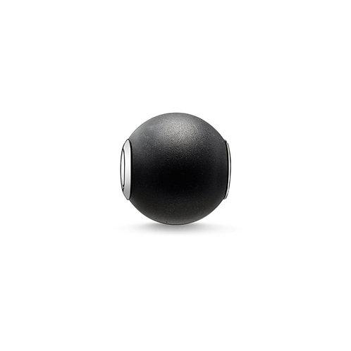 Thomas Sabo Karma Black Obsidian Stone Charm MEDIUM -K0001-023-11