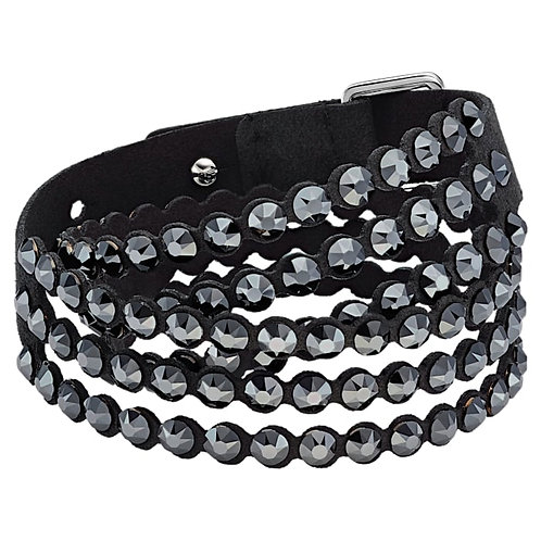 SWAROVSKI Double Power Bracelet in Black  - 5512512