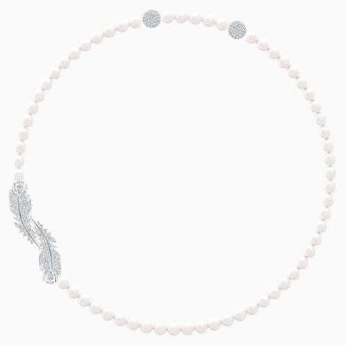 SWAROVSKI Sparkling Nice Crystal Pearl Necklace  - 5493403