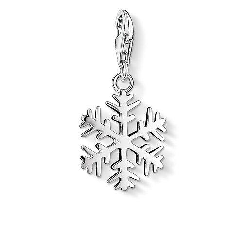 Thomas Sabo Silver Snowflake Charm -0281-001-12