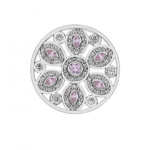 Emozioni by Hot Diamonds Spirituality Pink CZ Coin - EC386