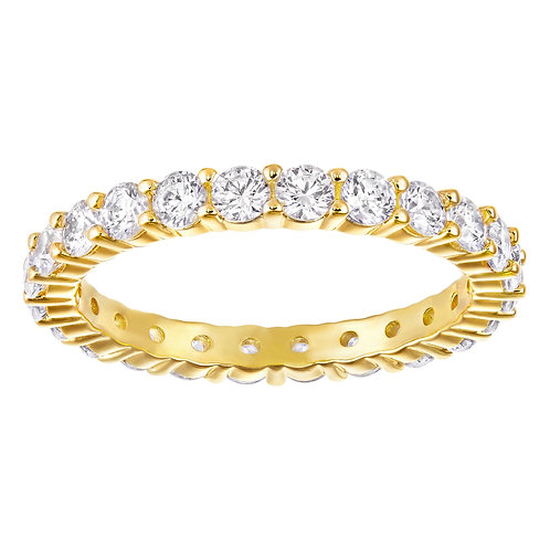 SWAROVSKI Vittore Marquise XL Ring Yellow Gold Tone Clear Crystal