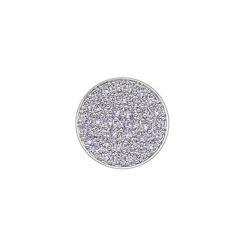 Emozioni by Hot Diamonds Calmness Purple CZ Scintilla Coin - EC441