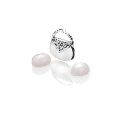 Anais by Hot Diamonds Sterling Silver CZ Handbag Charm - AC0118