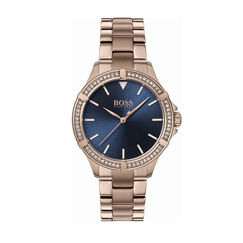 Hugo Boss Rose Gold Mini Sport Ladies Watch - 1502468