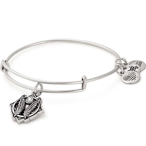 Alex and Ani Rafaelian Silver 'Godspeed' Charm Bangle - A17EBGSRS
