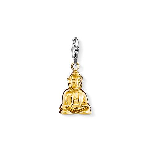 Thomas Sabo Silver Gold Buddah Charm - 0962-413-12
