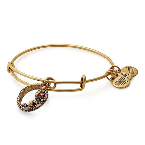 Alex and Ani Rafaelian Gold 'Queen's Crown' Charm Bangle - A17INTQCRG
