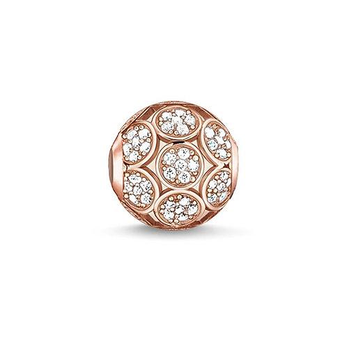 Thomas Sabo Karma Rose Gold Circles Bead Charm -K0141-416-14