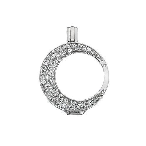 EMOZIONI Mezzaluna Sterling Silver Keeper 33mm EK014