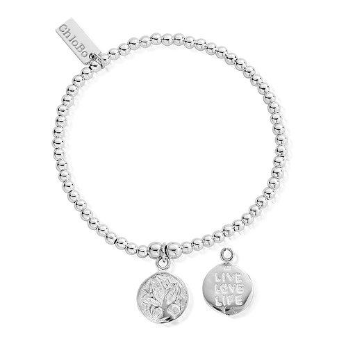 ChloBo Cute Charm Live Love Life Bracelet - SBCC215