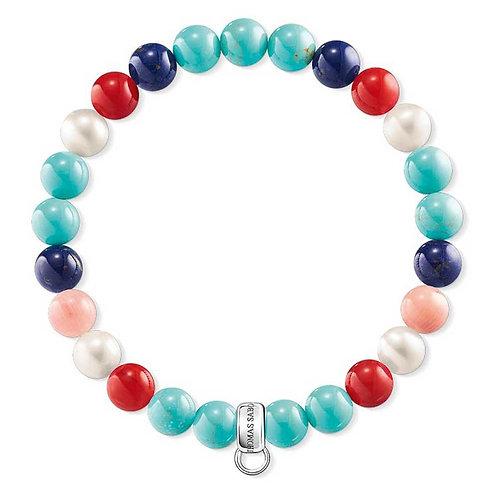 Thomas Sabo Multi-Coloured Bead Bracelet - X0214-946-7