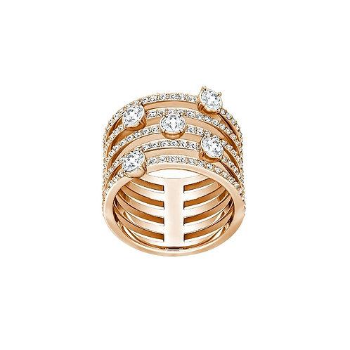 SWAROVSKI Creativity Wide Rose Gold Tone Ring - 5221421