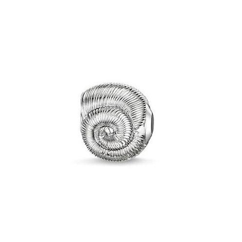 Thomas Sabo Karma Silver Shell Bead Charm -K0150-001-12