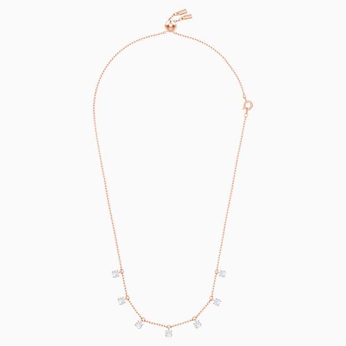 SWAROVSKI Attract Rose Gold Tone Pendant Necklace  - 5380061