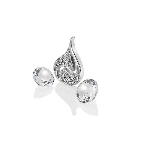 Anais by Hot Diamonds Sterling Silver Air Element Charm - AC103
