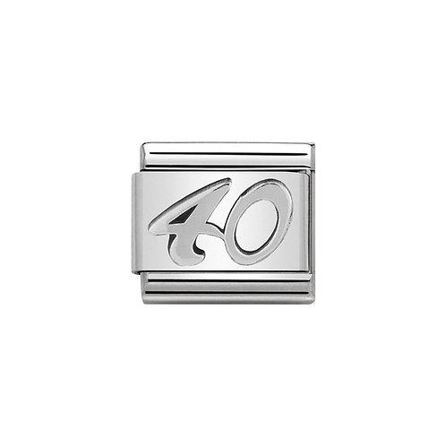 Nomination Silvershine 40 Charm Link - 330101/23