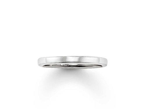 Thomas Sabo Silver Plain Band Ring - TR1979-001-12