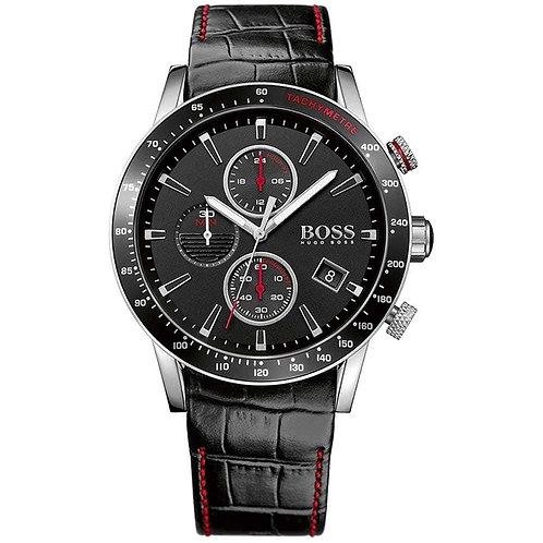 Boss Men's Rafale Chronograph Leather Band Men's Watch - 1513390