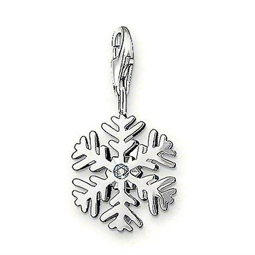 Thomas Sabo Snowflake Diamond Charm - DC0012-153-14