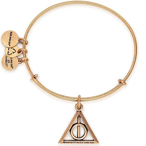 Alex and Ani Harry Potter Deathly Hallows Adjustable Bangle - AS17HP21RG