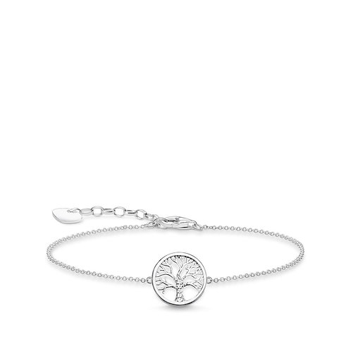 Thomas Sabo Tree of Love Sterling Silver Bracelet - A1828-051-14-L19v