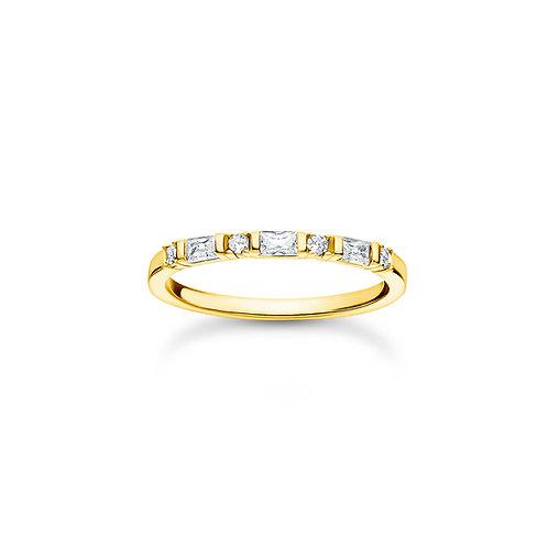 Thomas Sabo Gold CZ Eternity RING - TR2348-414-14