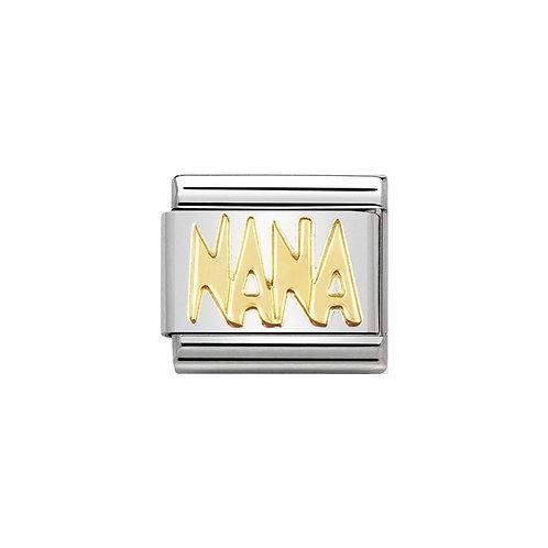 Nomination Gold NANA Charm Link - 030107/09