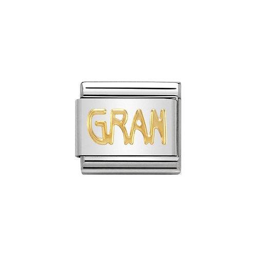 Nomination Gold GRAN Charm Link - 030107/18