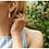 Thumbnail: ChloBo Silver Protection Eye Evil Stud Earrings - SEST497