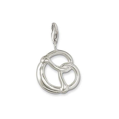 Thomas Sabo Sterling Silver Pretzel Charm - 0157-001-12