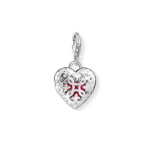 Thomas Sabo Filigree Locket Heart Charm - 1313-007-10